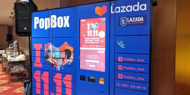 Belanja di Lazada Bisa Langsung Ambil Pesanan di Loker Popbox