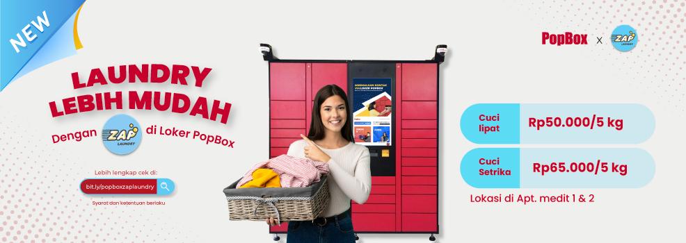Layanan Baru Zap Laundry